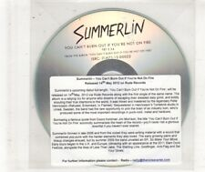 (HN514) Summerlin, You Can't Burn Out If You're Not On Fire - 2012 DJ CD
