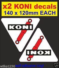 LX2 KONI Performance AMMORTIZZATORI RALLY RACE CAR CLASSIC Decalcomanie Nisan 350Z Adesivo VW