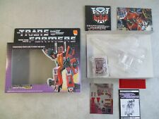VINTAGE 1985 TRANSFORMERS DECEPTICON THRUST BOX AND INSERTS ONLY HASBRO