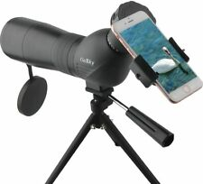 Gosky Skybird 60mm Spotting Scope Quick Phone Mount Kit Metal Tabletop Tripod