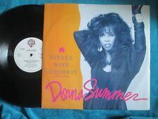 Donna Summer Dinner With Gershwin Warner Bros. U8237T UK Vinyl 12inch Single
