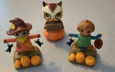 Solar Power Dancing Toy Figures For Fall Set Of 3 Solars Home /Car Decor