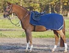 Busse Fleecetrainer Ausreitdecke, Sattelausschnitt Fleece, blau, Gr.135cm