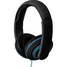 Coby CV-H811-BL Melody Stereo Headphones w/Mic CVH811 Blue