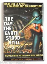 The Day the Earth Stood Still Fridge Magnet (2 x 3 inches) movie poster