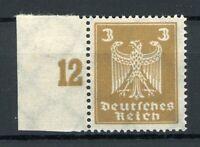Deutsches Reich MiNr. 355 Y Bogenrand postfrisch MNH Fotoattest Schlegel (MA1031