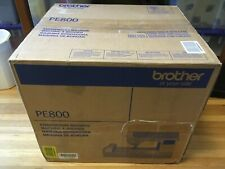 NEW Brother PE800 Embroidery Machine, 138 Built-in Designs