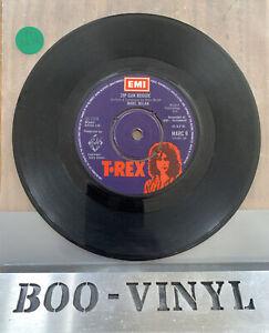 """T Rex Marc Bolan   Zip Gun Boogie 1974 7"""" MARC 9 EX CON"""