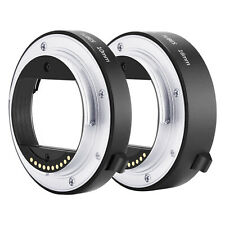 Neewer Auto Focus Macro Extension Tube Set 10mm 16mm for Sony NEX E-Mount Camera