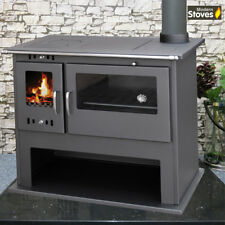 Cooker Range Wood Burning Multi-Fuel Stove  Milan 10.5kw Burner Kitchen Oven