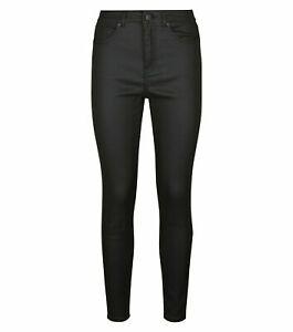 Ladies New Look LIFT & SHAPE Coated High Waist Skinny Jeans 6 10 12 14 B146