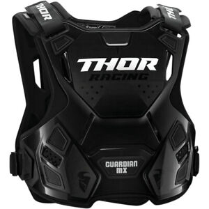 Thor Guardian MX Roost Guard Motocross Offroad Chest Protector Charcoal / Black