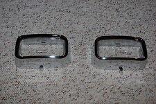 72 73 74 Plymouth Barracuda Cuda Park Light Lenses & Bezels Mopar parking lens