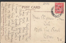 Genealogy Postcard - Jones - Ceti, Belle Vue Road, Cowes, Isle of Wight  RF271