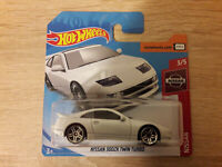 2019 Hot Wheels Nissan 300ZX Twin Turbo - 1:64 1/64 Nissan Series 3/5 White