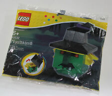 NEW RETIRED 2013 HALLOWEEN SET WITCH HEAD LEGO 40032 SEALED IN BAG
