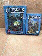 Citadels game Fantasy Flight Games and The Dark City Expansion