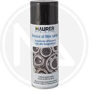 Grasso spray al litio MAURER ml 400 resistente all'acqua e alte temperature