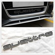 QUATTRO Schriftzug Emblem Logo Aufkleber Wappen Kühlergrill Audi A4 A5 A6 A7 RS5