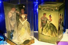 Tiana Naveen designer doll collection fairytale disney store exclusive 6000 pcs