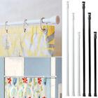 High Carbon Steel Adjustable Rod Tension Bathroom Curtain Extensible Rod Hanger