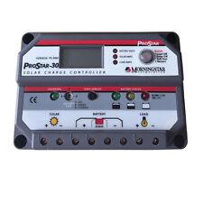 Morningstar Prostar PS-30M,Solar Battery Charge Controller,PWM 30 AMP 12/24 V