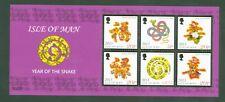 Isle of Man 2013 - Jahr der Schlange - Neujahr - Astrologie Zodiac - Block 86 A