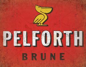 Pelforth Brune BEER PUB BAR  METAL TIN SIGN POSTER WALL PLAQUE