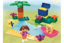 LEGO 7330 - Duplo Dora the Explorer - Dora's Treasure Island - 2004 - NO BOX