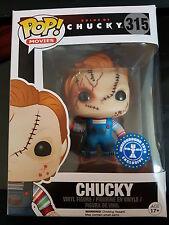 Bride of Chucky Scarred Chucky Pop! Vinyl - New Exclusive