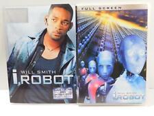 I, Robot (DVD movie, 2004, Full Frame) WILL SMITH SHIA LEBOUF with slip cover