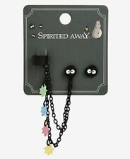Studio Ghibli Spirited Away Soot Sprite Cuff Earring Set New With Tags!