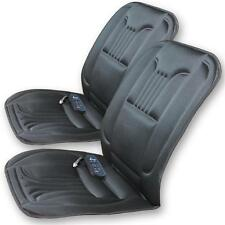 2x Sitzheizung mit Massage 12V 45W 2 Heizstufen Fernbedienung Sitzauflage Kissen