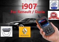 Renault  Dacia  OBD2 DIAGNOSTIC SCANNER TOOL ERASE FAULT CODES iCARSOFT i907