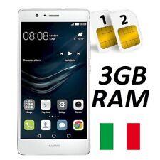 HUAWEI P9 LITE DUAL SIM 16GB 3GB RAM 4G WHITE GARANZIA 24 MESI ITALIA NO BRAND