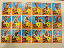 2012 – 13 Panini Past & Present Rise N Shine NBA Basketball Cards Lot of 18