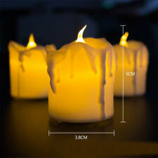 2 PcsElectric Candles Lights for Christmas Halloween Wedding Battery 2018