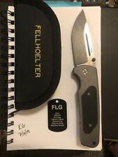 Fellhoelter FLG 2014 model folding knife