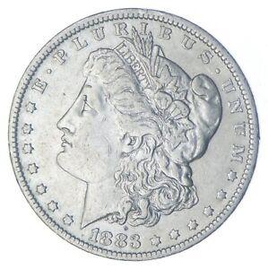 W@W Early 1883-O Morgan Silver Dollar - 90% US Coin - Nice Coin *843