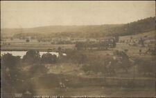 Bear Lake PA From Hill c1910 Real Photo Postcard