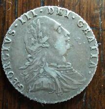 George III Silver Shilling 1787