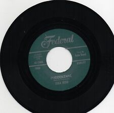 LULA REED - PUDDENTANE / I GOT A NOTION (Hot Rhythm & Blues Stroller) rockabilly