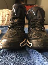 Men's Adidas Performance Adizero Crazy Light 3 Basketball Shoe Sz 9 Blk/Whit/Sil