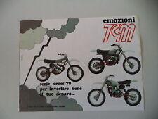 advertising Pubblicità 1978 MOTO TGM SERIE CROSS 50/125/250