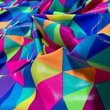 Nylon Lycra Spandex Fabric Print 4 Way Strech By Yard