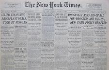 1-1936 January 9 ITALIAN TROOPS MUTINY IN TYROL,KILL 2 AS  500 RAIL TO MUSSOLINI