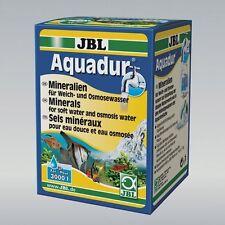 Jbl aquadur 250g (sales Minerales Plus ro de agua suave livebearing de crianza de peces)