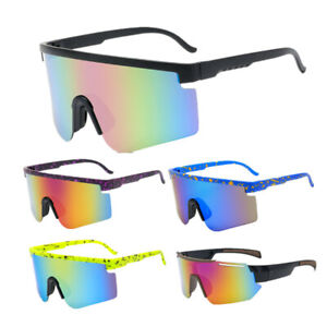 New Mirrored Sports Fashion Cycling Outdoor Beach Sunglasses men and Women UV400