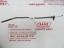 68-73 Corvette 427 ACCELERATOR CABLE LINKAGE ROD ASSY 1X4  big block 5A