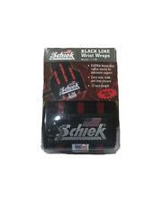 """Schiek Sports Model 1112B 12"""" Wrist Wraps - Black/Red"""